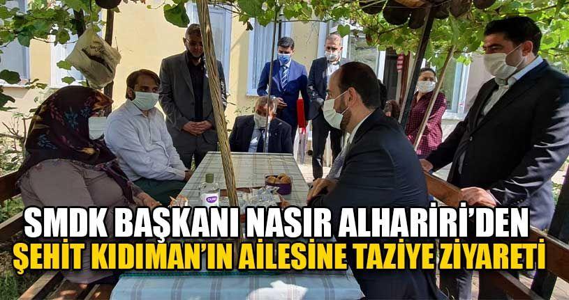 SMDK Başkanı Nasır Alhariri'den Taziye Ziyareti