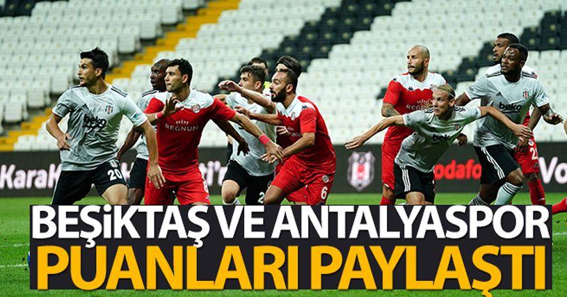 Beşiktaş 1-1 Antalyaspor