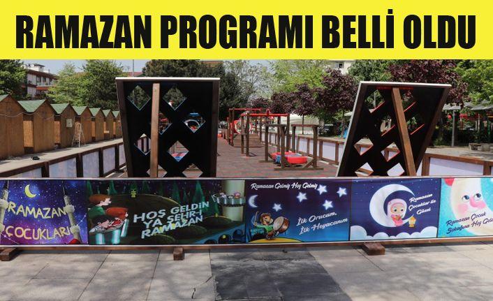 Ramazan etkinlikleri Anıtpark'ta olacak