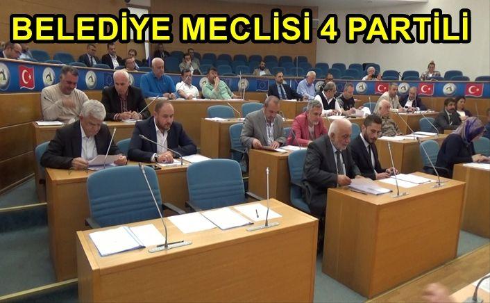 Belediye Meclisi ilk oturumu yapıldı