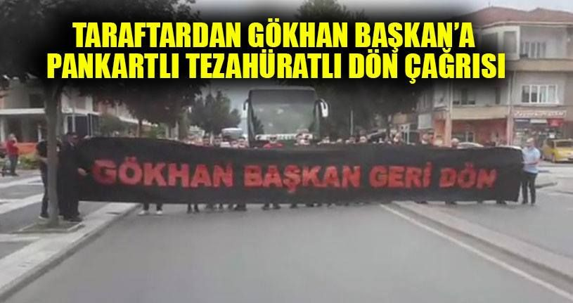 Taraftardan Kapoğlu'na dön çağrısı