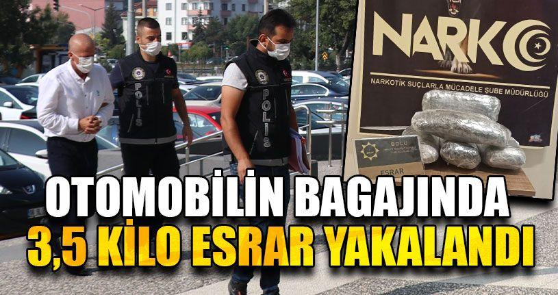 Otomobil Bagajına Zulalanmış Uyuşturucu Ele Geçirildi