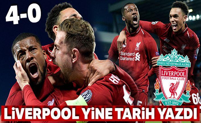 Liverpool:4-0 Barcelona