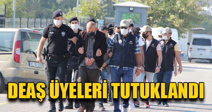 Yabancı Uyruklu DEAŞ Üyeleri Tutuklandı