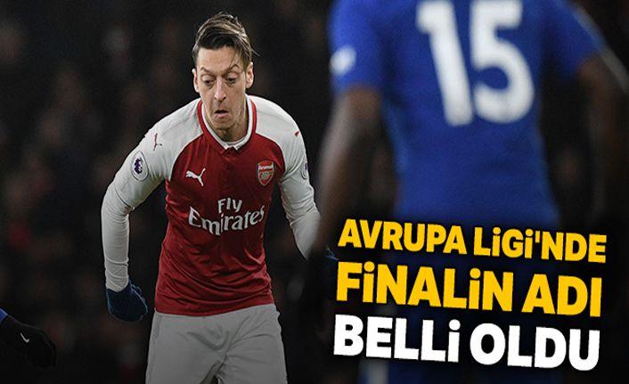 Avrupa Ligi'nde finalin adı: Chelsea - Arsenal