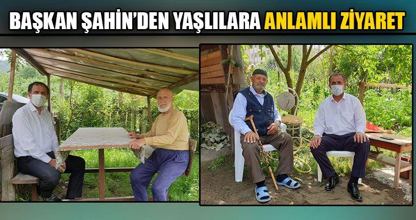 Başkan Şahin'den Yaşlılara Anlamlı Ziyaret