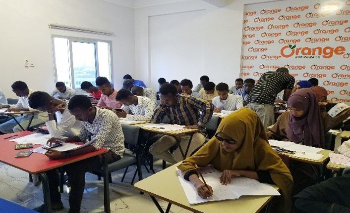Düzce Üniversitesi Somali'de sınav yaptı