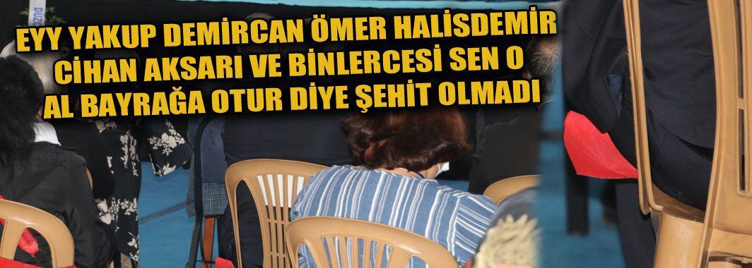 Yakup Demircan'dan Al Bayrağa Büyük Saygısızlık