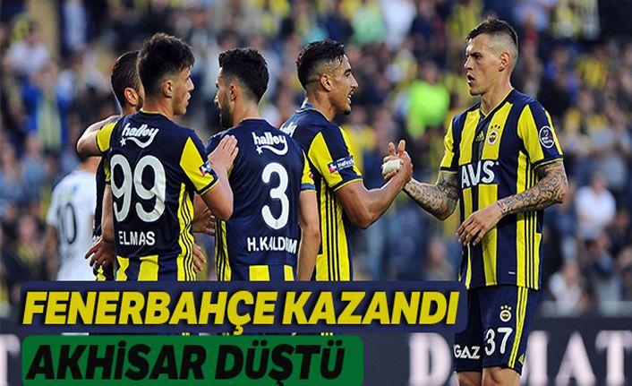 Fenerbahçe ilk yarıda işi bitirdi