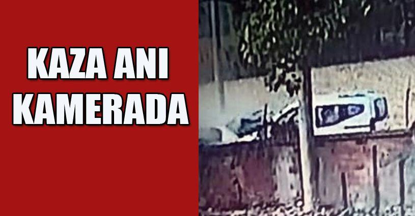 Akyazı'daki Kaza Güvenlik Kamerasında