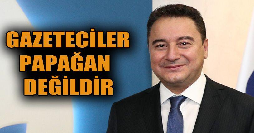 Ali Babacan'dan Basın Sansürüne Tepki
