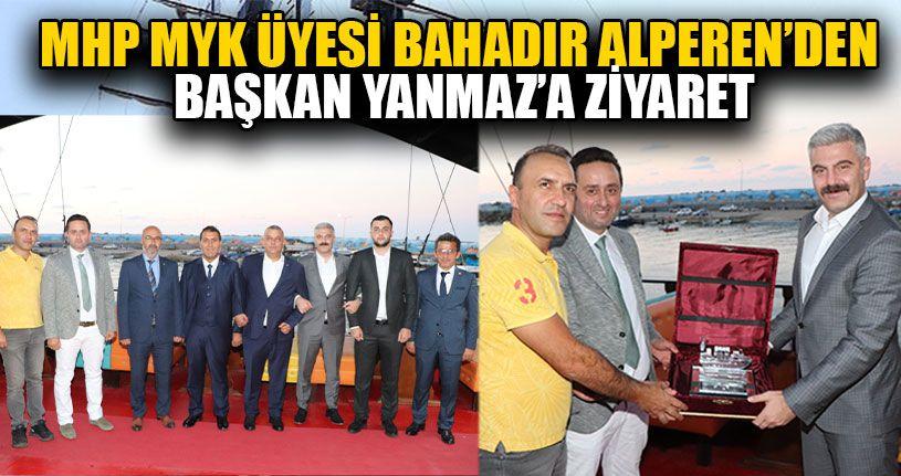 MYK Üyesi Bahadır Alperen'den Başkan Yanmaz'a Ziyaret