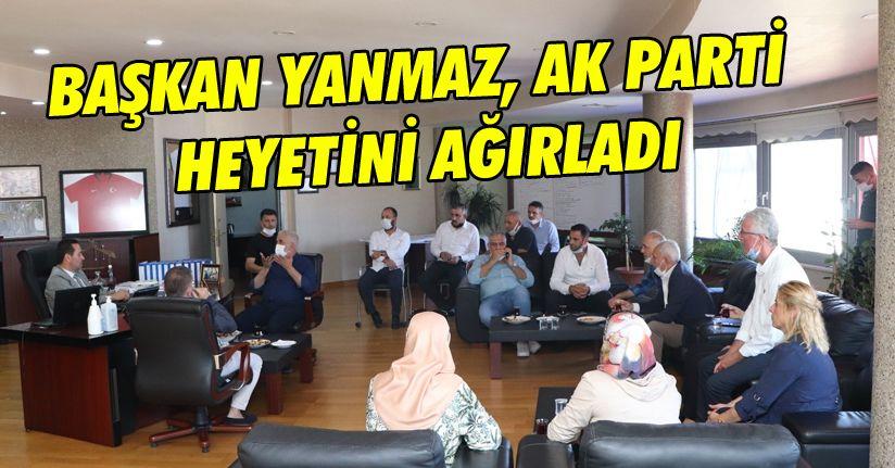 Başkan Yanmaz, AK Parti heyetini ağırladı