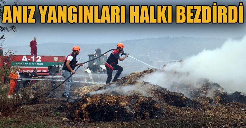 Anız yangınları halkı bezdirdi