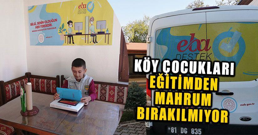 Köy Çocukları Eğitimden Mahrum Bırakılmıyor