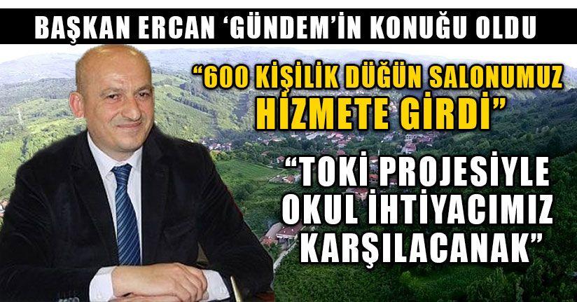 Başkan Ercan 'Gündem'in Konuğu Oldu