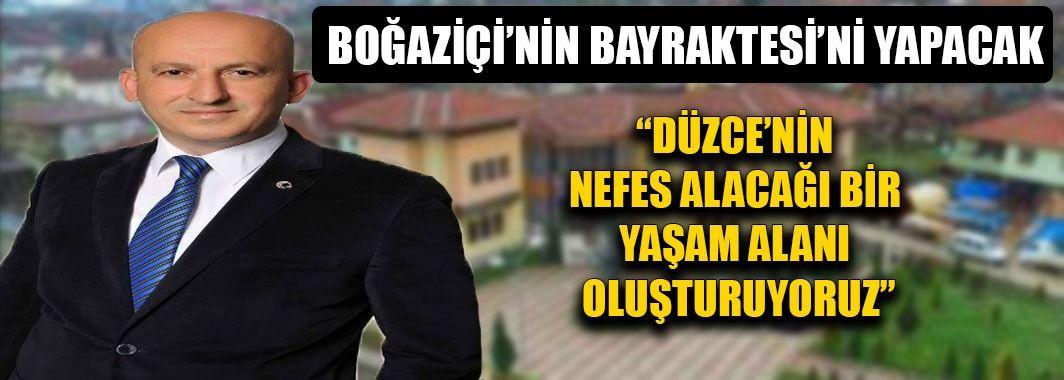 Başkan Ercan'dan Düzce'ye Nefes Aldıracak Proje
