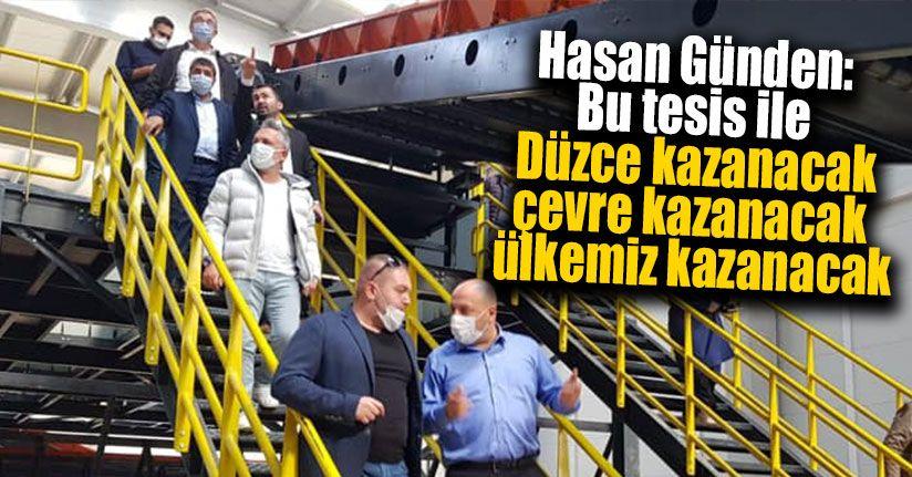 Sıfır Atık Seviyesinde Türkiye'de Kurulan İlk Tesis