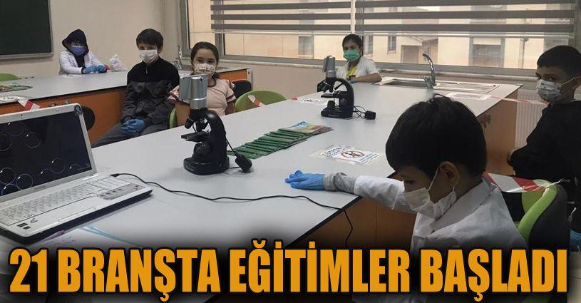 21 Branşta eğitim verecek çocuk kulübü eğitimleri başladı