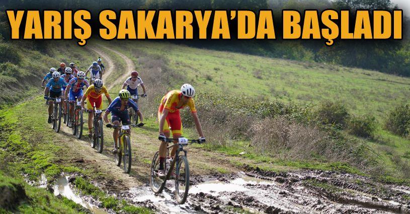 Dünya Dağ Bisikleti Maraton Şampiyonası'nda start verildi