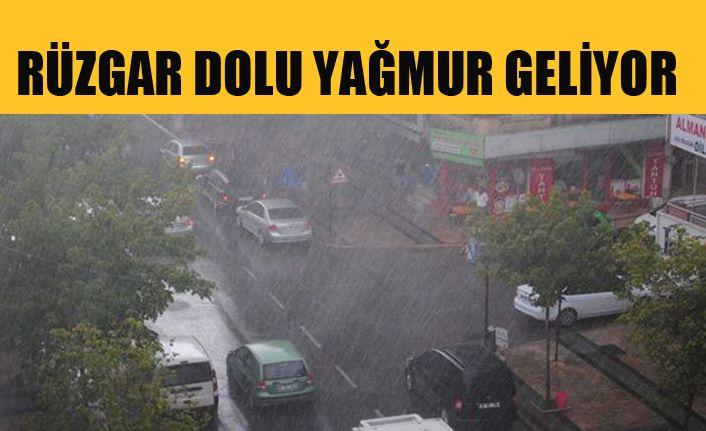Valilikten sağanak yağış uyarısı