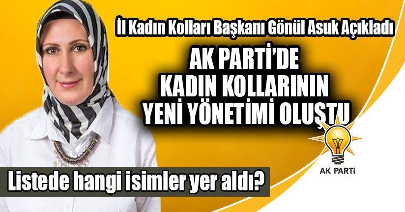 AK Parti'de Kadın Kollarının Yeni Yönetimi Oluştu