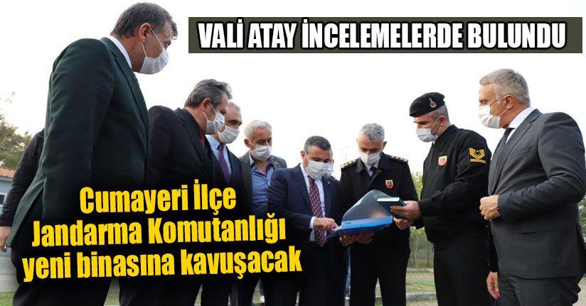 Cumayeri İlçe Jandarma Komutanlığı Yeni Binasına Kavuşacak