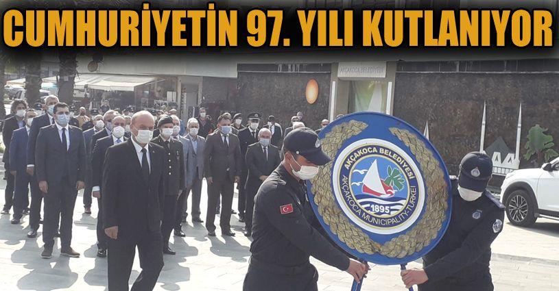 29 Ekim Cumhuriyet Bayramı Çelenk Sunumu İle Başladı