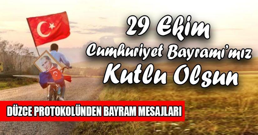 Cumhuriyetimizin 97. Yıl Dönümünü Kutluyoruz