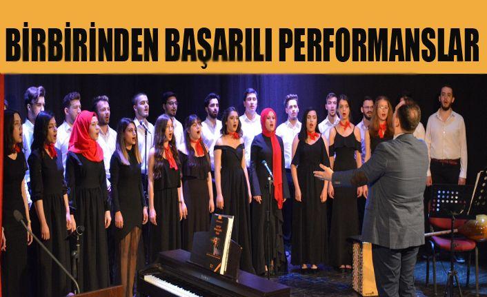 Düzce Üniversitesinde Hasat Zamanı Konseri