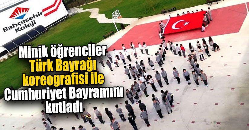 Minik Öğrenciler Cumhuriyet Bayramını Kutladı