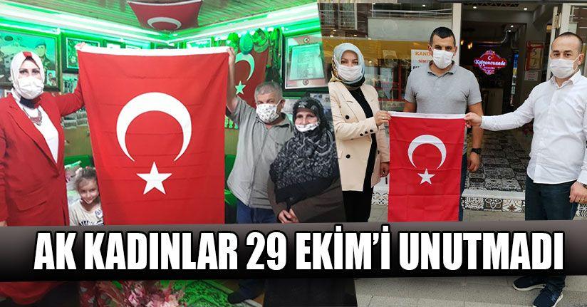 AK Kadınlar 29 Ekim'i Unutmadı