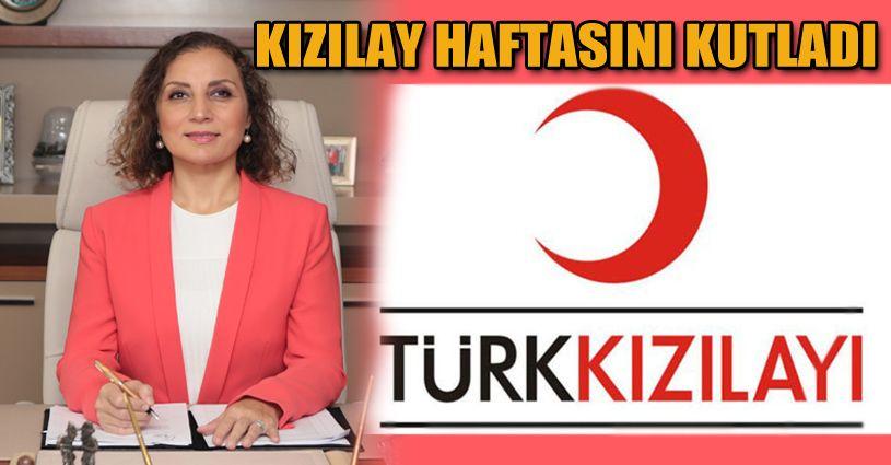 Rektör Çakar Kızılay Haftasını kutladı