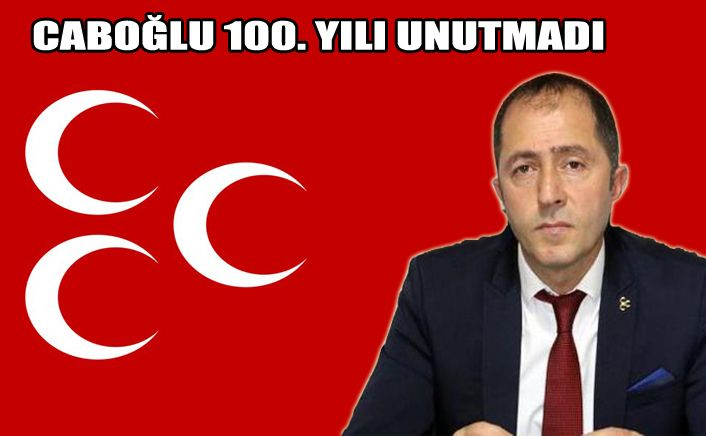 MHP İl Başkan Caboğlu 19 Mayıs'ı kutladı