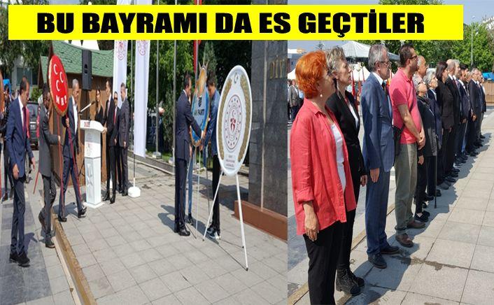 AK Parti şaşırtmamaya bu bayramda da devam etti
