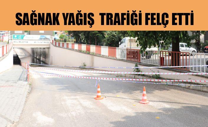 Alt geçitler trafiğe kapatıldı