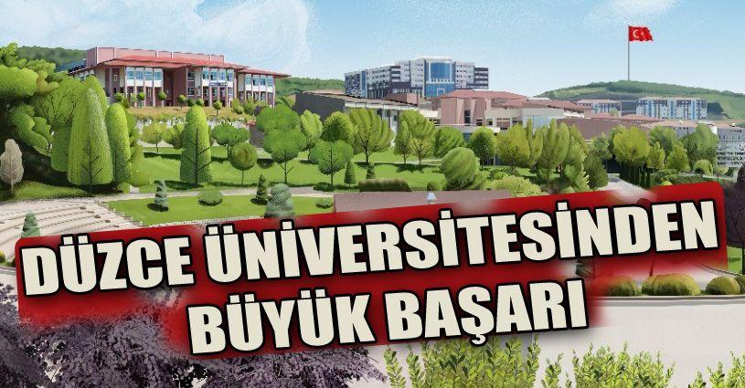 Düzce Üniversitesi'nden dünya sıralamasında önemli başarı