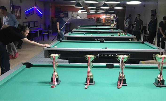 Pool Bilardo Turnuvası Yapıldı