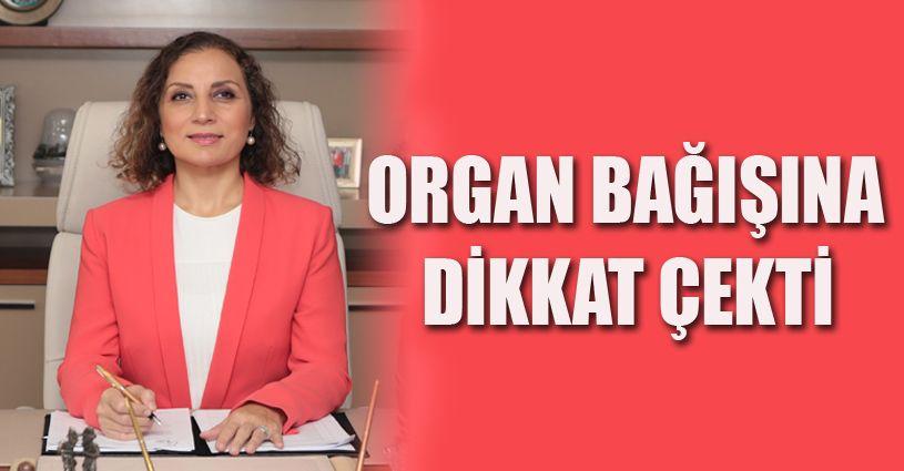 Rektör Çakar'dan Organ Nakli Haftası mesajı