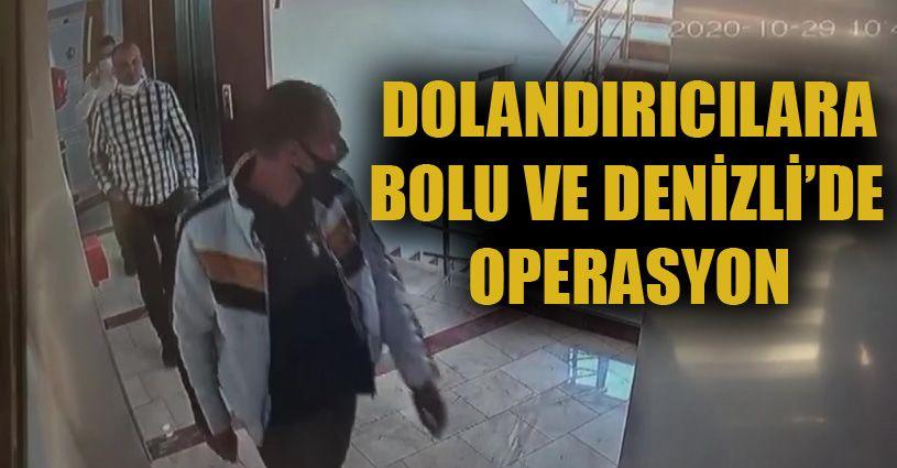 Denizli ve Bolu'da yakalanan suç çetesinden 2 kişi tutuklandı