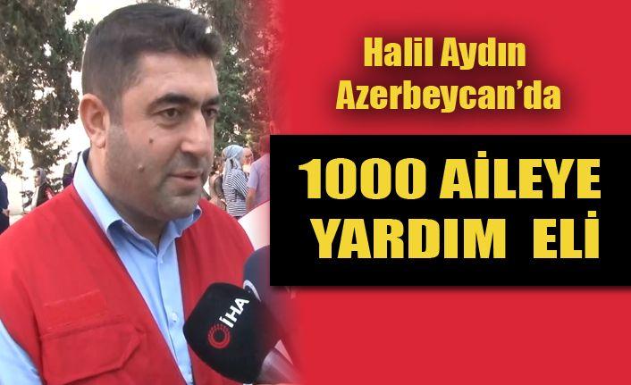 Kardeş Azerbeycan'a Yardım Eli