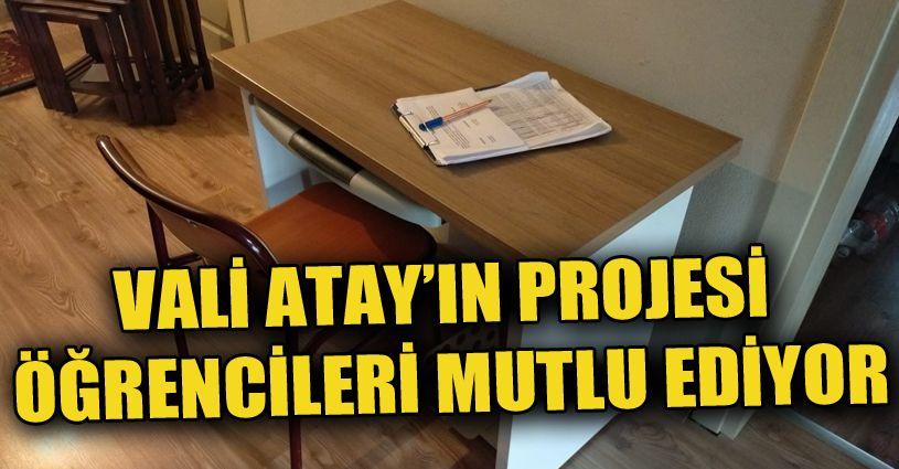 Her evde bir okul projesi devam ediyor