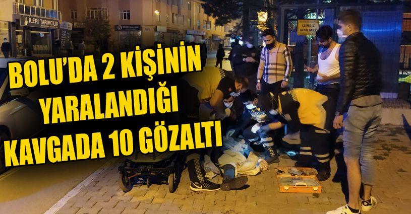 Aralarında husumet bulunan iki grup arasında silahlı kavga: 2 yaralı