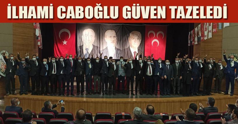 MHP İl Başkanı Caboğlu, güven tazeledi