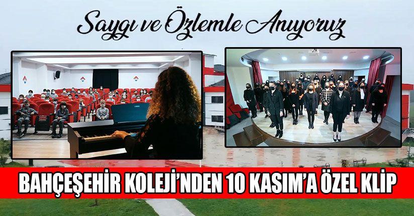 Bahçeşehir'den Duygu Dolu 10 Kasım Özel Klip