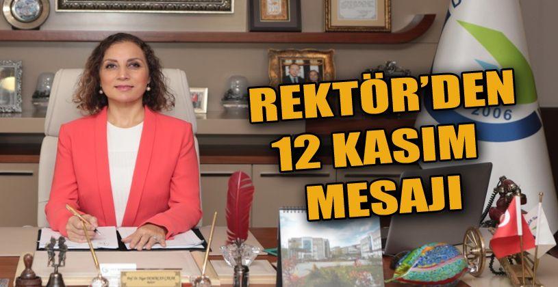 """Rektör Çakar """"12 Kasım Düzce depremini 21. yılında anıyoruz"""""""