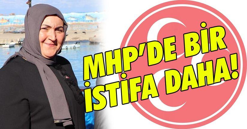 MHP Kadın Kolları Başkanı istifa etti