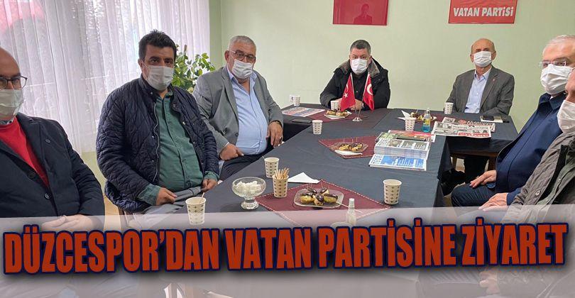 Düzcespor'dan Vatan Partisine Ziyaret