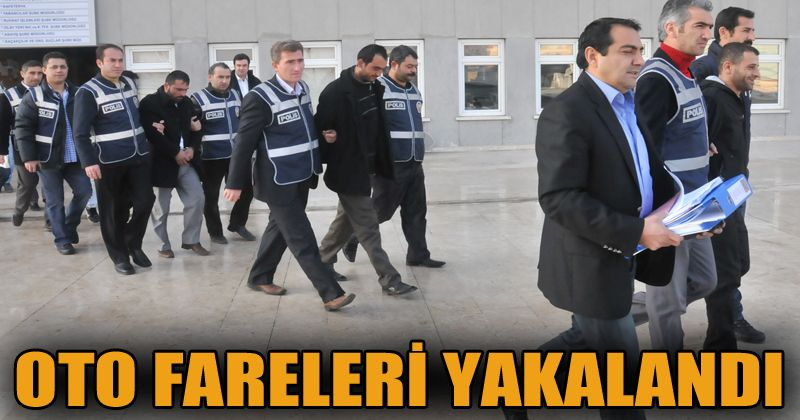Ankara'da otomobil hırsızlarına yönelik operasyonda 12 gözaltı