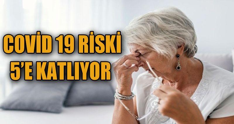 KOAH hastalarında Covıd-19 hastalığı riski 5 kat arttırıyor